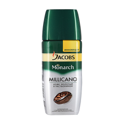 Кофе Jacobs Monarch Milicano, 190 г, стекло